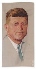 President John F. Kennedy Beach Towel