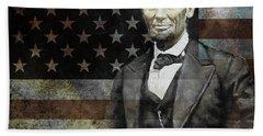 President Lincoln  Beach Towel by Gull G