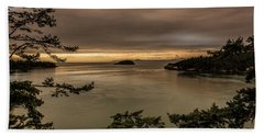 Pudget Sound Beach Sheet by Sabine Edrissi