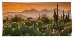 Pure Sonoran Gold  Beach Towel