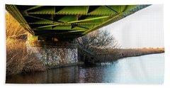 Railway Bridge Beach Towel