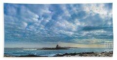 Ram Island Light Beach Towel by Alana Ranney