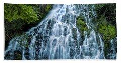 Ramona Falls Cascade Beach Towel