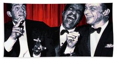 Rat Pack Beach Towel