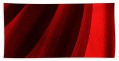 Red Chrysanthemum Dawn Rising Beach Towel