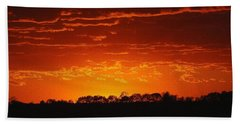 Beach Towel featuring the photograph Red Arkansas by J R Seymour