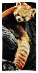 Red Panda Beach Sheet