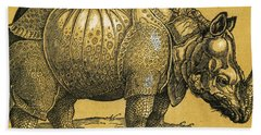 Rhinoceros Beach Towel