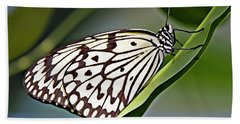 Rice Paper Butterfly 8 Beach Towel