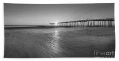 Rise And Shine At Nags Head Pier Beach Towel