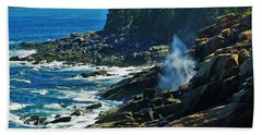Rockport Shoreline Beach Towel