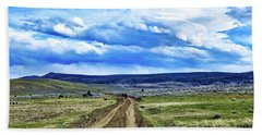Room To Roam - Wyoming Beach Towel by L O C