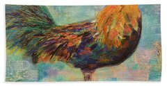 Regal Rooster Beach Towel