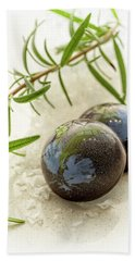 Beach Sheet featuring the photograph Rosemary Caramel Chocolate by Sabine Edrissi