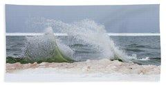 Rough Water Beach Towel
