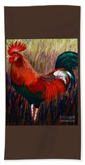 Rudy The Rooster Beach Towel