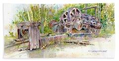 Rusting Relic Beach Sheet