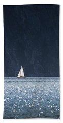 Sailboat Beach Sheet by Chevy Fleet