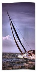 Sailing To Nantucket 003 Beach Towel
