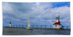 Saint Joseph Lighthouse Beach Towel