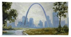 Saint Louis Panorama Beach Towel