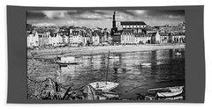Beach Sheet featuring the photograph Saint Servan Anse by Elf Evans