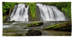 Salmon Creek Falls - Juneau Beach Towel