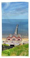 Saltburn Pier Beach Towel