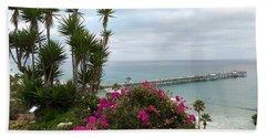 San Clemente Pier Beach Sheet