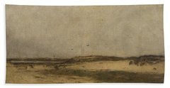 Sand Dunes In Holland Beach Towel