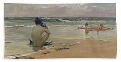 Sea Idyll Beach Towel