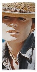 Selfportrait  Beach Towel