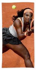Serena Williams 4 Beach Towel