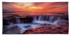 Sharks Cove Beach Towel by James Roemmling