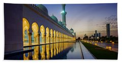 Sheikh Zayed Grand Mosque Beach Towel