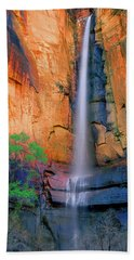 Sinawava Falls Beach Towel