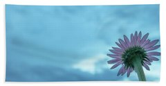 Single Garden Flower Beach Towel