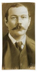 Sir Arthur Conan Doyle Beach Towel