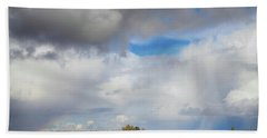 Beach Towel featuring the photograph Skyward by Laurie Search