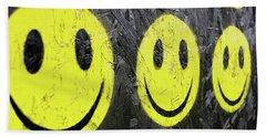 Smiley Beach Sheet
