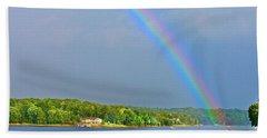 Smith Mountain Lake Rainbow Beach Towel