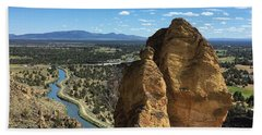 Smith Rocks Beach Towel