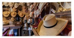 Snail Creek Hat Company Beach Sheet by Tim Stanley