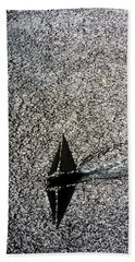 Sailing Into Solitude Beach Towel