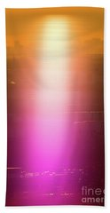 Beach Towel featuring the photograph Spiritual Light by Tatsuya Atarashi