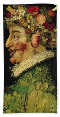 Spring Beach Sheet by Giuseppe Arcimboldo
