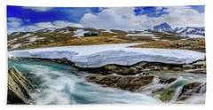 Beach Sheet featuring the photograph Spring Waters by Dmytro Korol