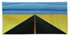 Squall Lines Beach Towel