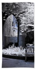 Beach Towel featuring the photograph St Dunstan's In The East by Helga Novelli
