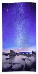 Star Gazer  Beach Towel